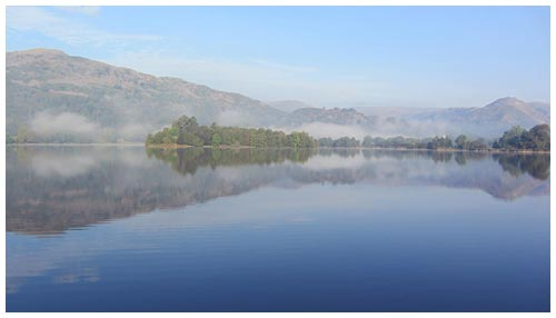 Mist-on-Grasmere-Lake
